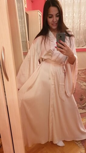 AEL Fashion Loose Soft Comfortable Night Robe Women Belt Bathrobe Women's Sleep Sexy Sleepwear Shift 2017 Select 3 Color