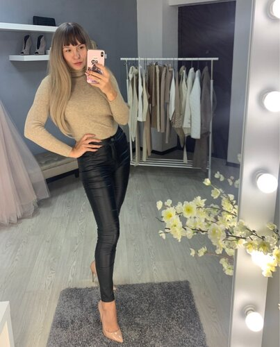 Leather Winter leggings Velvet Women High Waist Women's PU Faux Leather Pants Skinny Leather leggins Trousers Stretch Leggings